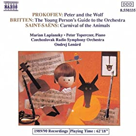 Prokofiev: Peter and the Wolf / Britten: