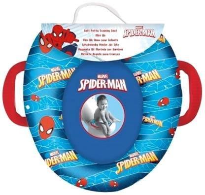 Spider-man- riduttore wc morbido, colore blu, 6071