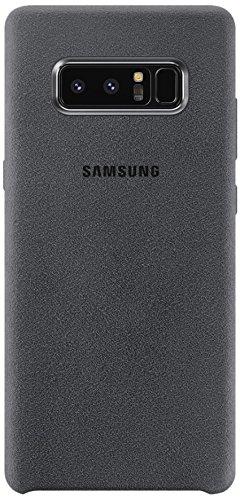 Samsung EF-XN950AJEGWW Alcantara Hülle für Galaxy Note 8 Dunkelgrau
