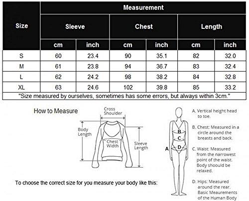 MEXI Frauen Schwarz Langarm Casual Shirt Minikleid Style-02-Schwarz