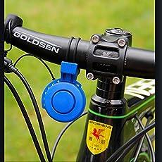 Cozyswan® Elektrische Fahrradhupe, elektronisch, Wiederaufladbar, wasserdicht, Laute Lautstärke für Mountainbike, Rennrad, BMX, MTB