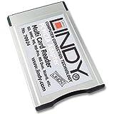 Lindy 70924 Lecteur de cartes 20 en 1 sur bus PCMCIA