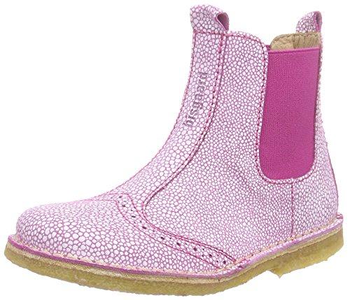 Bisgaard Boot, Bottes Chelsea courtes, doublure froide mixte enfant Rose - Pink (125 Cerise)