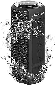 مكبر صوت بلوتوث ضد الماء T6 بلس من ترونسمارت 40 وات للاستخدام الخارجي بلوتوث 5.0 لاسلكي ومحمول مع صوت جهير اكب