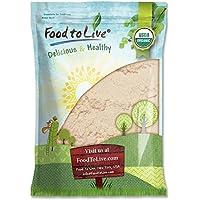 Food to Live Harina de coco Bio certificada (Eco, Ecológico, no OGM, a granel) (12 libras)