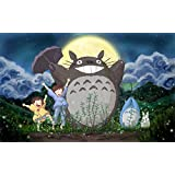 My Neighbor Totoro Customized 22x14 inch Silk Print Poster Seda Cartel/WallPaper Great Gift