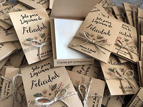 Etiquetas Adhesivas para Invitacion Boda Bautizo Compromiso Cumplea/ños Fiesta Navidad Vintage Sellos CrisPhy Pegatinas Personalizadas Boda con Nombre y Fecha