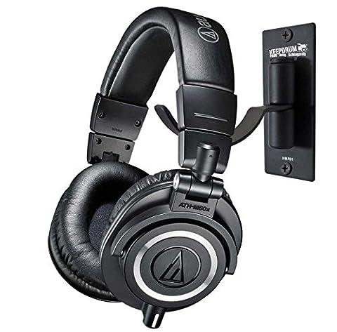 Audio-Technica ATH-M50X Casque DJ pour Studio keepdrum Support mural