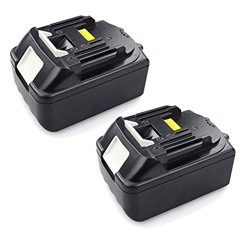 Zwilling 18V 3,0Ah Li-Ion batería para herramientas Batería para atornillador Makita BL1830BL1815194204-5, LXT400y BTW251, BSS501, BSS610, BSS610Z, BL1835,, BJR181, BJR181Z