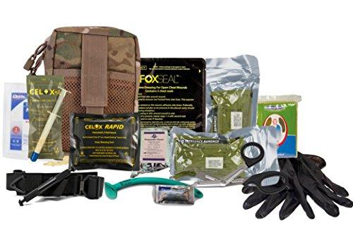 Advanced Trauma Individual First Aid Kit ( IFAK) SOFT-T (Trauma-erste Hilfe)