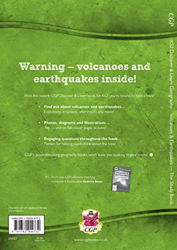 New KS2 Discover & Learn: Geography - Volcanoes and Earthquakes Study Book
