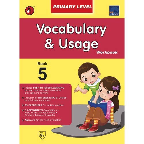 SAP Vocabulary & Usage Primary Level Workbook 5 [Paperback]