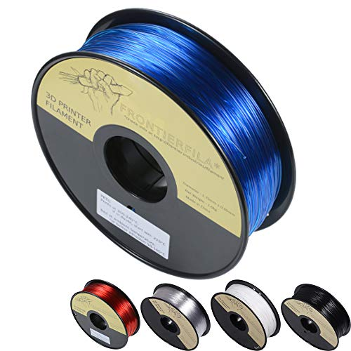 PETG negro 1kg 1.75mm - Filamento para impresora 3D - FrontierFila