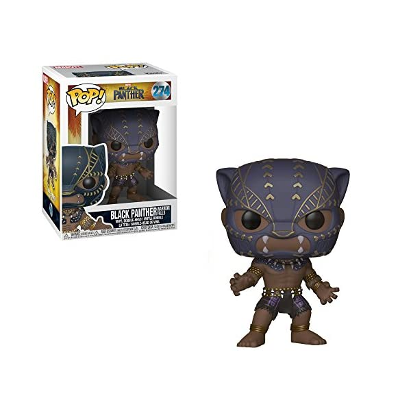 Funko Pop Black Panther Warrior Falls (Black Panther – Marvel 274) Funko Pop Black Panther