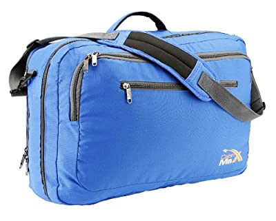 Cabin Max Frankfurt Messenger and Laptop Carry On Bag - Easyjet Cabin Guaranteed 50x34x20cm
