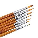 LnLyin Hookline Pen Detail Art Nagelbürsten Nylonhaar-Pinsel-Zeichenwerkzeug