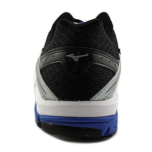 Mizuno Wave Impetus 4 Maschenweite Laufschuh Silver/Blue/Black