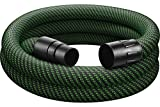 Festool 500681 Staubsauger-Saugschlauch, schwarz/grün, 36 mm x 3,5 m