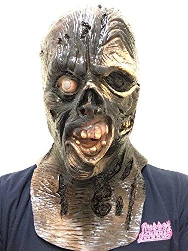 Rubber Johnnies - Maschera per Halloween ispirata a Jason della serie Venerdì 13, da adulto, taglia unica