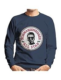 Arnold Schwarzenegger All Star Converse Logo Men's Sweatshirt