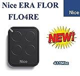 Télécommande NICE FLO4RE était Flor 4-canale Télécommande 433,92Mhz émetteur. Compatible avec FLOR-S, Inti, One, était One