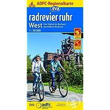 ADFC-Regionalkarte radrevier.ruhr West, 1:50.000, reiß- und wetterfest, GPS-Tracks Download: Von Xanten bis Bochum, von Haltern bis Essen (ADFC-Regionalkarte 1:50000)