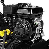 BRAST Benzin Vertikutierer 3,8kW (5,2PS) 40cm Arbeitsbreite 45L Fangkorb 2in1 Rasenlüfter Moosentferner 196ccm - 2