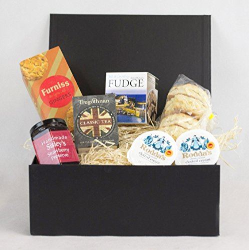 Afternoon Tea Hamper In A Black Gift Box