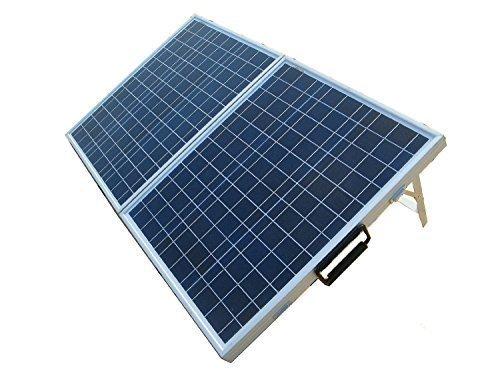 ECO-WORTHY 80W Solarmodul 12 Volt - Tragbar Solarpanel 12V Polykristallin Photovoltaik für Wohnmobil Boot Akku-Ladegerät-Kits