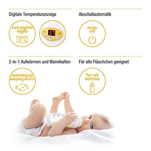 Beurer BY 52 Appareil Chauffe-biberon et Nourriture pour Bébé