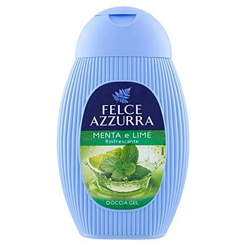 Felce Azzurra docciagel Minze und Lime–6Packungen 250ml–insgesamt: 1500ml