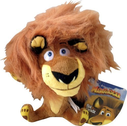 dreamworks-madagascar-big-headz-20cm-plush-alex-the-lion