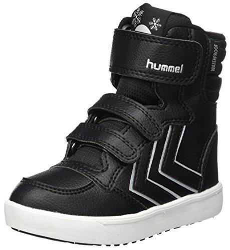 hummel Unisex-Kinder Stadil Super Premium Boot JR Schneestiefel, Schwarz (Black), 36 (Stiefel Super Mädchen)