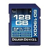Delkin 128GB SDXC UHS-I/1900x uhs-ii U3memory card/V60