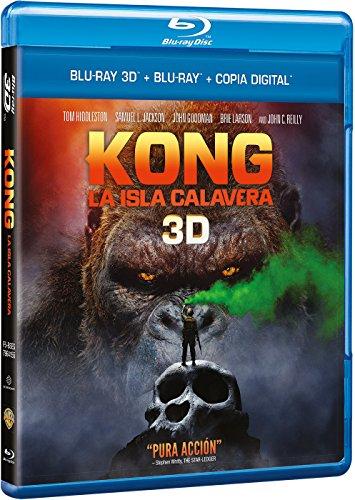 Kong: La Isla Calavera Blu-Ray 3d...