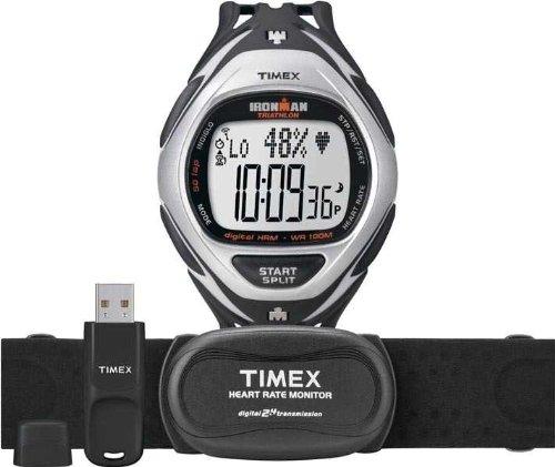 TIMEX T5K571 - RELOJ DIGITAL DE CUARZO PARA HOMBRE CON CORREA DE CAUCHO  COLOR NEGRO