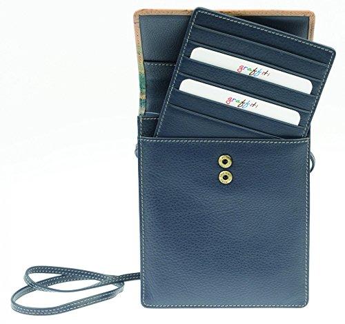 Golunski 7356 - Portatrajes de viaje Mujer Varios colores azul/multicolor mediano