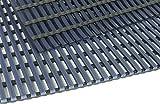 TP Nassraumbodenrost 50 x 400 cm, Farbe: Blau, für Bäder, Umkleide-, Nass- & Barfußbereiche, Stärke: 10 mm, sehr gute rutschhemmende Eigenschaften, Beständig gegen...