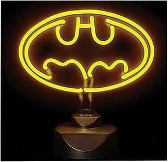 dc comics lampe neon batman 23 x 30 cm luminaires et eclairage. Black Bedroom Furniture Sets. Home Design Ideas
