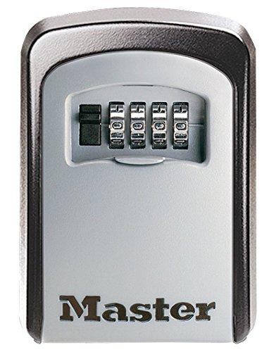 Master Lock Sicherheits-Schlüsselkasten mit Zahlenkombination für Wandmontage; um Ihre Schlüssel sicher mit anderen zu teilen (Master Lock Schlüsselsafe)
