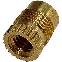 AERZETIX: 10x Tuercas insertos de presion laton para termoplastico rosca M4 7.9mm C19257