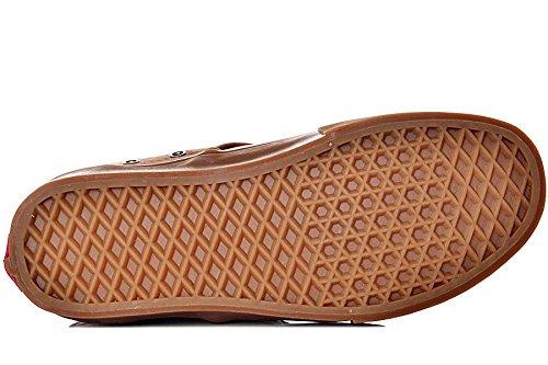 Vans  M Chima Ferguson, Herren Sneaker, Weiß Braun