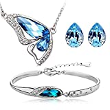 Valentine Gifts : Shining Diva Blue Crys...