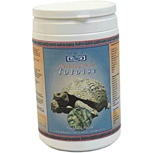 Namiba Terra 0278 HerbivoRep Tortoise Food Kräuterpellets für Landschildkröten, 480 g