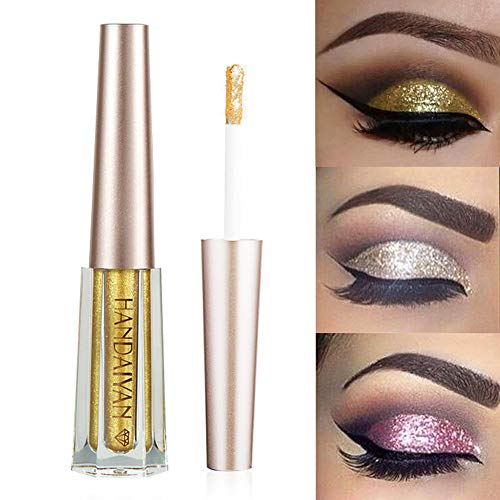 1 Glitter Pcs Pen Portable Stage Black Catwalk 5g Casual Plastic Eyeshadow 2 Cream Waterproof Long-lasting Etc T Party Wedding Beauty & Health Beauty Essentials