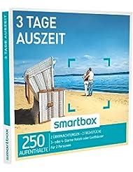 SMARTBOX - Geschenkbox - 3 TAGE AUSZEIT - 250 Aufenthalte: 2 Nächte mit Frühstück in 3* oder 4* Hotels oder Gasthäusern