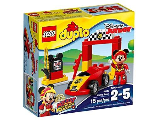 LEGO Duplo 10843 - Mickys Rennwagen Auto-bett Disney