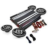 auna 'Platin Line' Car HiFo Set Subwoofer Amplifier System High-Performance (Various Power Levels, Various Sets, Built-In Light Effects)