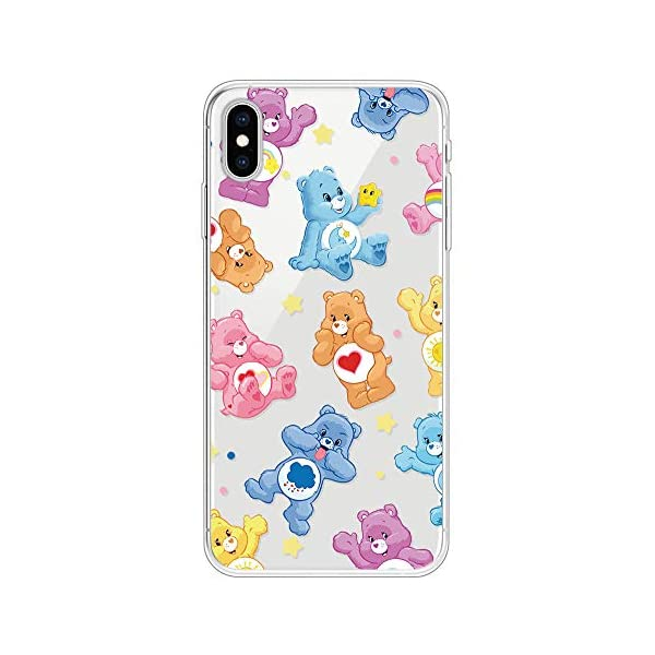 Miagon Clear Case for iPhone XS/X,Creative Cute Design Slim Soft Flexible TPU Back Cover Phone Case,Lovely Bear Miagon Please choose the right size of your phone before purchase.Only Perfectly Design for iPhone XS/ X The design will make your phone look fashionable and let you match any occasions. Allows Easy access to all buttons, controls and ports Made of Tpu.These material are selected for quality,strength,character.Prevent from finger prints and dirt.Raised lip and camera cutout offer lens & screen protection. Drop Protection, Shock Absorption, Anti- Slip, Anti-dust. 1