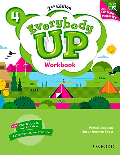 Everybody Up! 2nd Edition 4. Workbook with Online Practice
